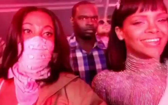 Rihanna Shows Off Her worthy Coachella Look