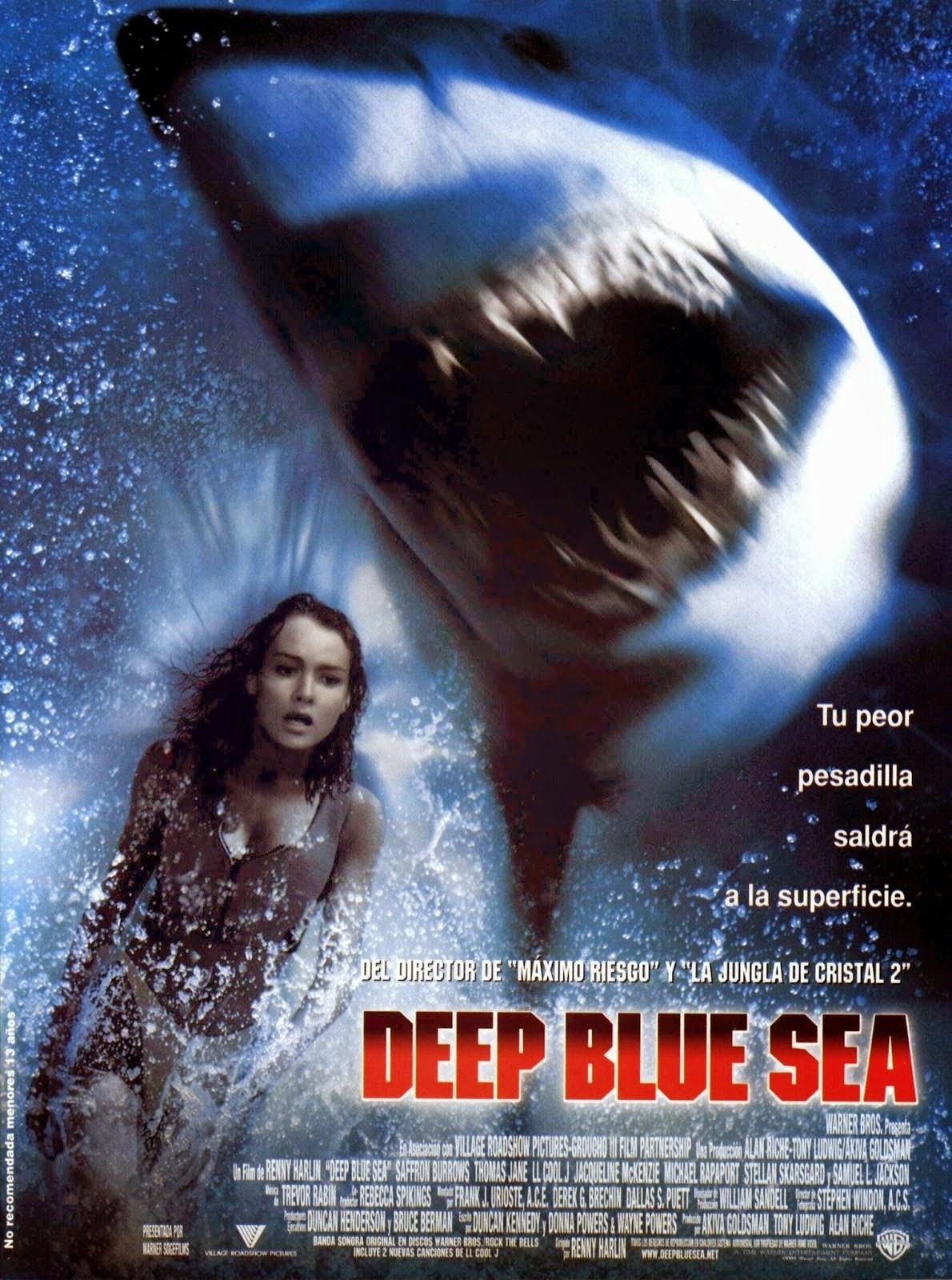 Deep Blue Sea ฝูงมฤตยูใต้สมุทร [HD][พากย์ไทย]
