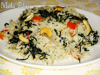 Fenugreek Leaves Pulao