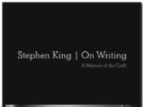 Tips on Good Writing from Stephen King