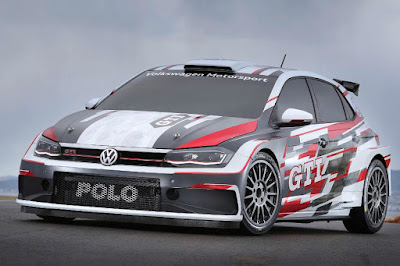 Volkswagen Polo GTI R5 2018 Front Side