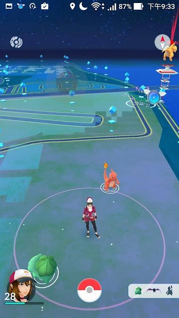 Screenshot 20161015 213310 - Pokemon GO 使用 flyGPS 當飛人,手動狙擊寶可夢教學,就是不想出門!