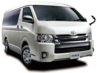 Eksterior Toyota Hiace