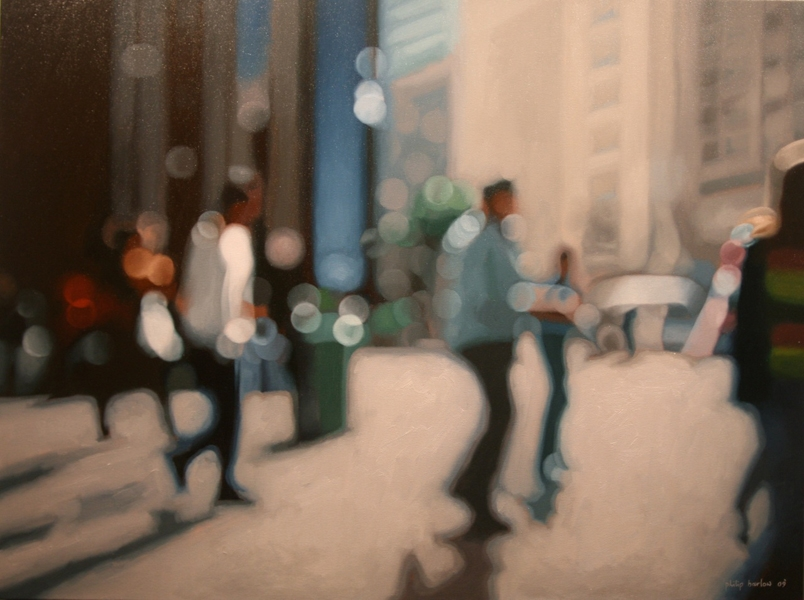07-Expectant-Days-Return-in-Studio-Philip-Barlow-No-Need-to-adjust-your-Screen-Paintings-out-of-Focus-www-designstack-co
