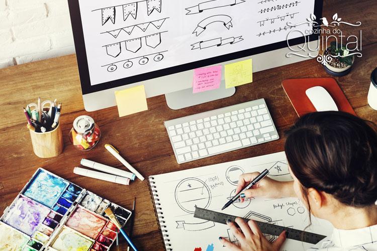 O trabalho de um designer pode ajudar a encontrar a personalidade certa do seu negócio.