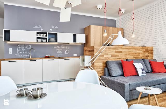 O transformare spectaculoasă a unui apartament de 59 m² din Varșovia