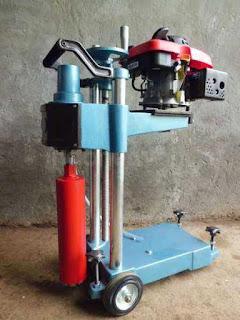 alat core drill aspal