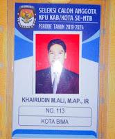 <b>Meski Tahapan Mulus Dilewati, Khairuddin Mundur Saat Proses Seleksi Calon Anggota KPUD Mendekati Akhir</b>