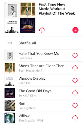 iTunes Workout Playlist of the Week