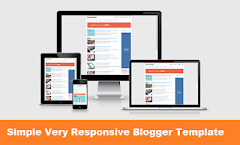 Simple Very Responsive Blogger Template | Blogspot 2018