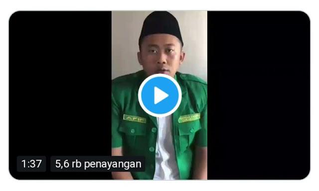 Viral, Video Ketua GP Ansor Surabaya Minta Polisi Tembak di Tempat Pembawa Bendera HTI