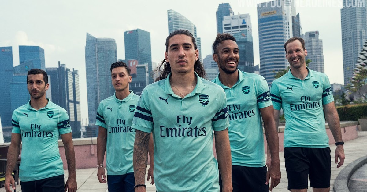 5d9530b0e Arsenal 18-19 Third Kit Released - Footy Headlines