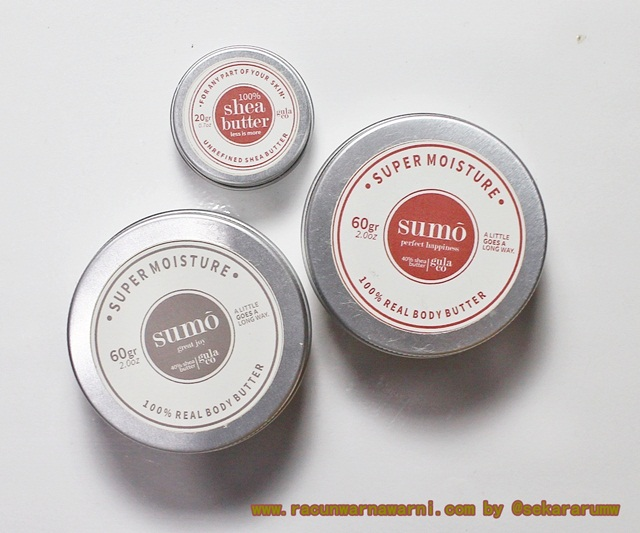Gulaco Shea Butter dan Body Butter