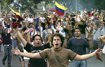 Una foto de la última manifestación política que cubrí en Venezuela para la Agencia EFE antes de mudarme a México(Foto ©Chico Sánchez-Derechos Reservados)