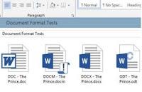 Differenze tra formati di file Word Excel e Powerpoint