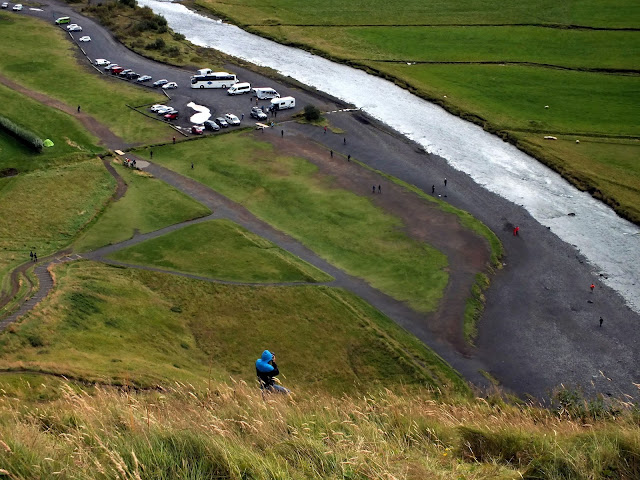 ruta por la ring road en Islandia