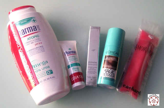 Productos de la Beauty box