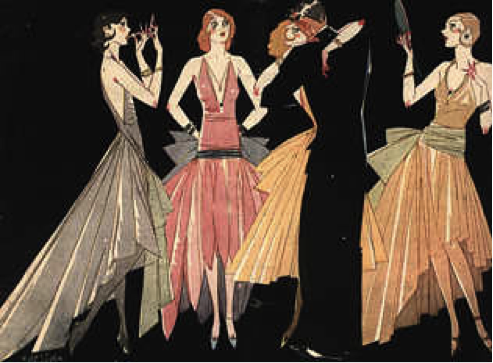 Interpreting Narrative: Fashion in the 1920's