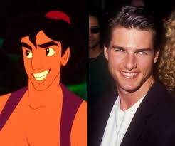 Aladdin e Tom cruise 1990
