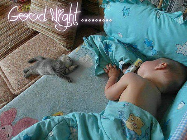 Funny Good Night Baby Images