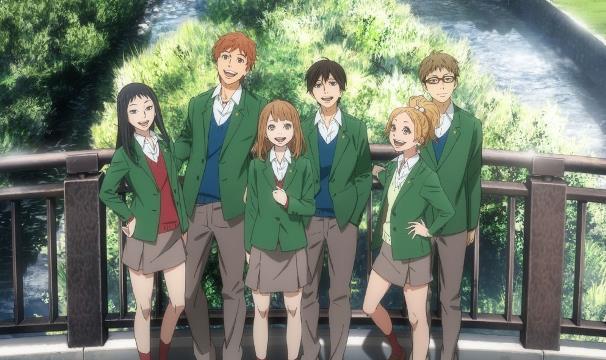 Orange - Daftar Anime Romance School Terbaik Sepanjang Masa