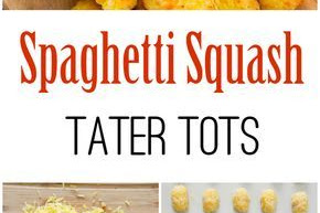 Spaghetti Squash Tater Tots Recipe