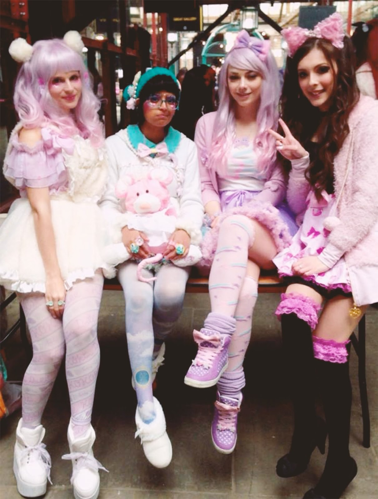 jfashion show, gyaru, pastel, fairy kei