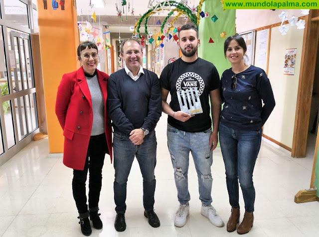 El Ayuntamiento de El Paso felicita a Diego Pérez Santos por su excelente resultado en el 'Canarias Skills'