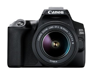 Make beautiful memories in a click with the Canon EOS 250D, the world's lightest DSLR with a moveable screen