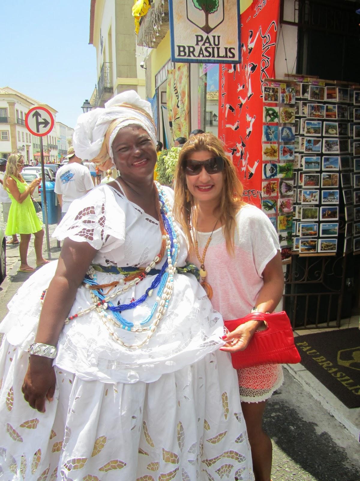 6402c12e08 Jo Ribeiro e a famosa Baiana Foto divulgação