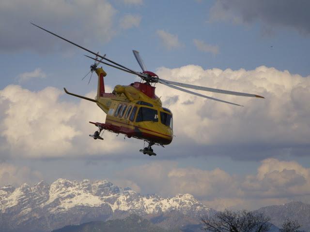 Nuova tragedia in Abruzzo, precipita un elicottero del 118
