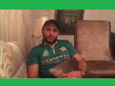 """Shahid Afridi has released a video apologising people of Pakistan for his team's dismal performance in T20 World Cup.  Afridi says he seeks forgiveness from the people of Pakistan for not living up to their expectations.  """"I don't care what other people say about me but I am answerable to you (people of Pakistan),"""" he adds."""