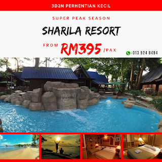 Sharila Island Resort - Pakej Perhentian Terbaik Ever!