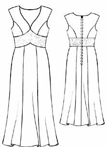 Cortes para hacer vestidos