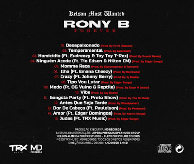 Kelson Most Wanted - Rony B Forever (Álbum) Download Mp3