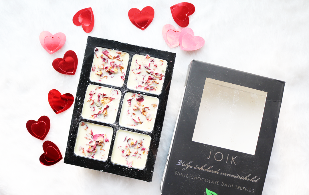 JOIK White Chocolate Bath Truffles
