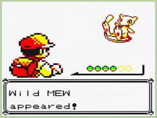 Graficos de Mew en pokémon Yellow