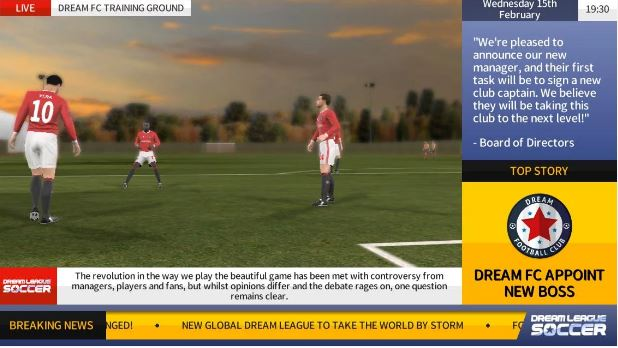 Dream League Soccer Apk unlimited terbaru