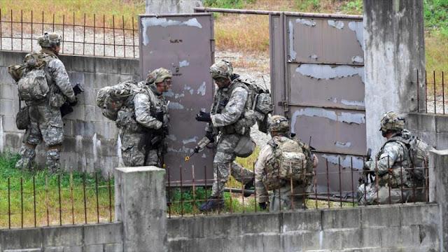 EEUU se prepara para una 'violenta' guerra con Pyongyang