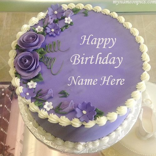 Generate Birthday Cake Images With Name And Photo