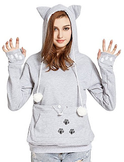 VOGRYE Womens Hoodies Pet