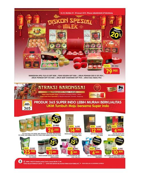 Katalog Super Hemat Super Indo Jabodetabek dan Palembang 24 Januari sampai 30 Januari 2019