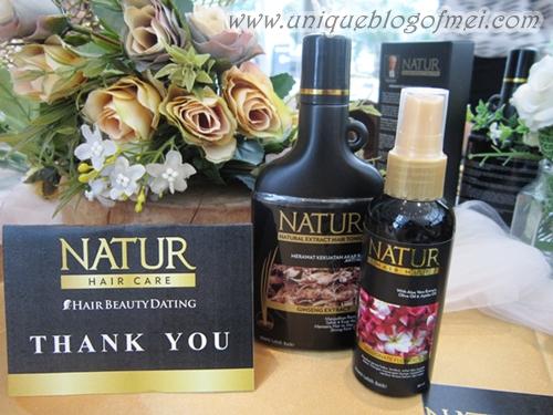 Natur Hair Mist Review #Kuatdariakar