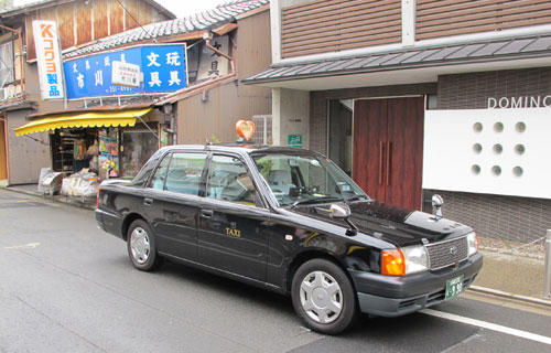 MK Taxi cab Kyoto