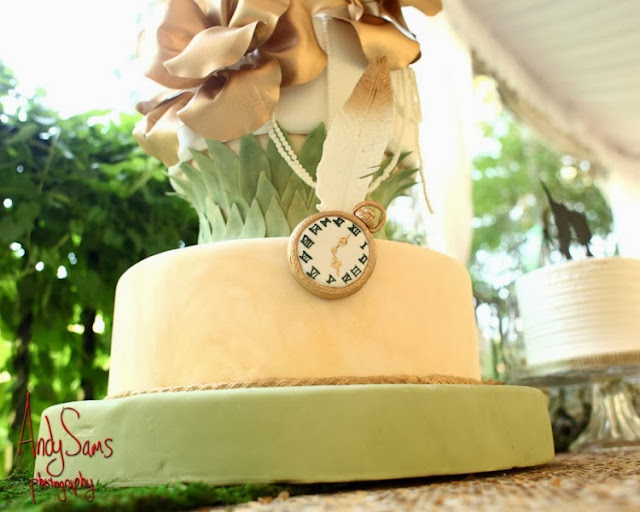 Whimsical Peter Pan and Wendy Darling Styled Wedding Photo ...