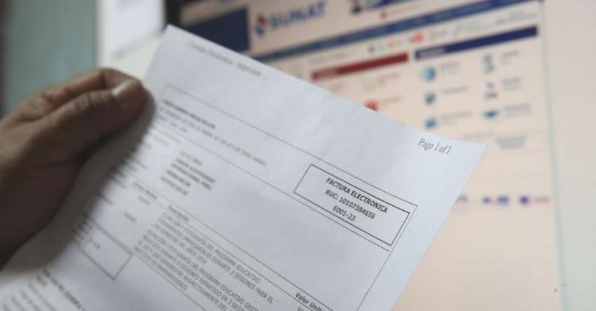 SUNAT: Sepa quiénes están obligados a facturar electrónicamente el último semestre de este año - www.sunat.gob.pe