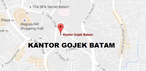 alamat kantor gojek batam, kantor gojek batam, alamat gojek batam, gojek batam, lokais gojek batam