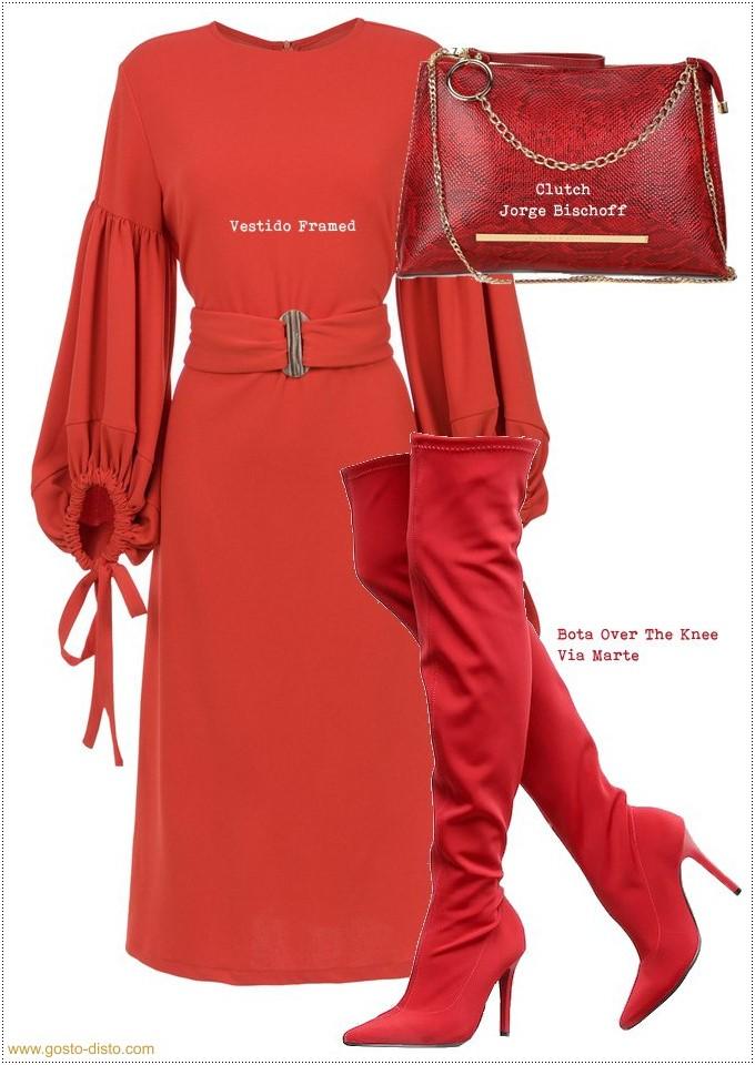 Como usar vermelho no inverno como a Rainha Letizia
