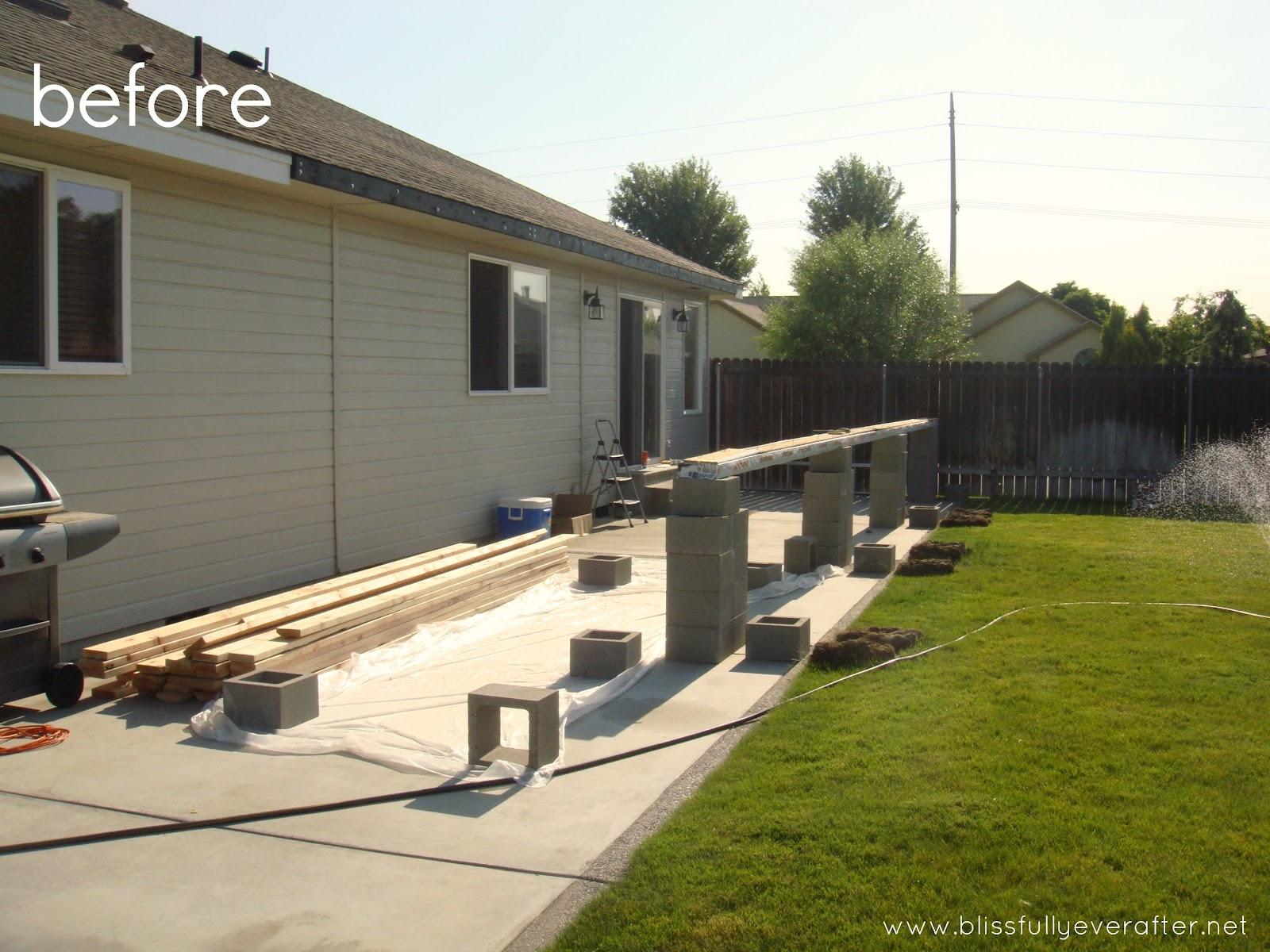 DIY Backyard Makeover  Grace Filled Interiors