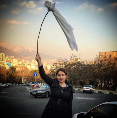 Lady Sentenced To 20years In Prison For Removing Her Hijab In Iran